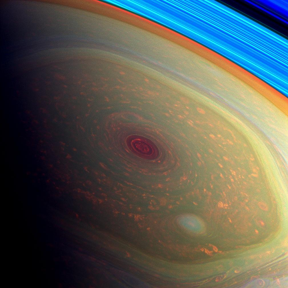 Giant Hurricane On Saturn  YouTube